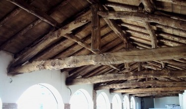 Soffitto In Legno Con Travi : Sabbiatura legno sabbiatura milano