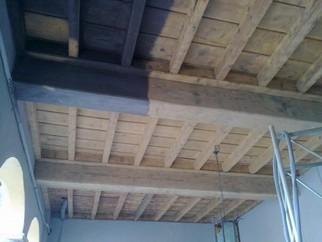 Sabbiatura legno sabbiatura milano for Costo delle travi a vista